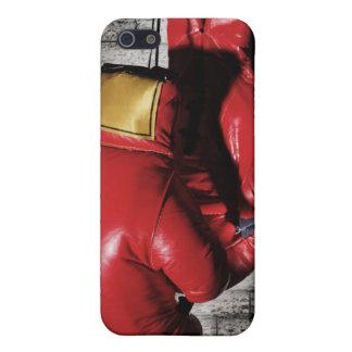 Cubierta roja del caso del iPhone 4/4s de los guan iPhone 5 Funda