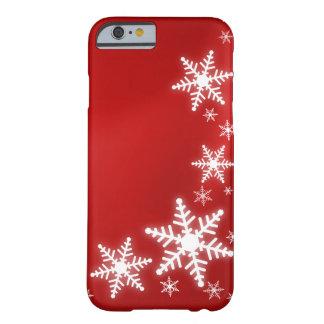 Cubierta roja del caso del iPhone 6 del día de Funda Para iPhone 6 Barely There