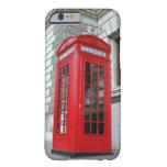 Cubierta roja del iPhone 6 de la caja del teléfono Funda De iPhone 6 Barely There