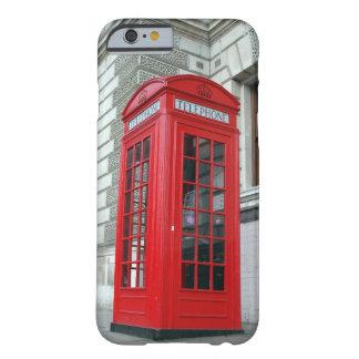 Cubierta roja del iPhone 6 de la caja del teléfono Funda Para iPhone 6 Barely There