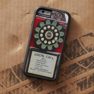 Cubierta roja retra del iphone del Toughie Funda De iPhone 6 Tough Xtreme