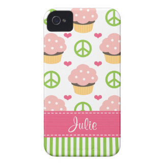 Cubierta rosada de Barely There de la casamata del iPhone 4 Case-Mate Cárcasa