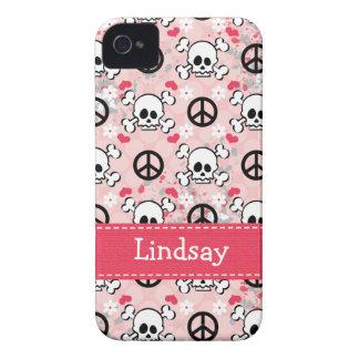 Cubierta rosada de la casamata 4s del iPhone 4 del iPhone 4 Case-Mate Cárcasa