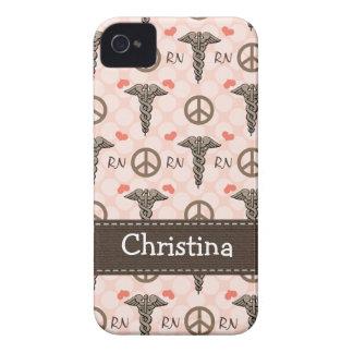Cubierta rosada de la casamata 4s del iPhone 4 del Case-Mate iPhone 4 Protector