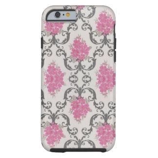 Cubierta rosada del caso del iPhone 5 del papel