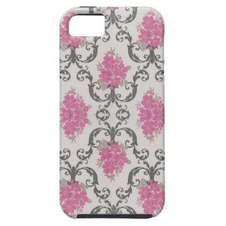 Cubierta rosada del caso del iPhone 5 del papel pi iPhone 5 Case-Mate Carcasas