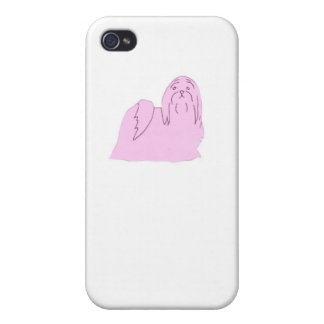 Cubierta rosada del estuche rígido del iphone de S iPhone 4 Carcasas