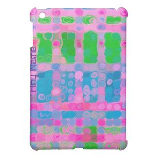 Cubierta rosada del iPad de la pintura