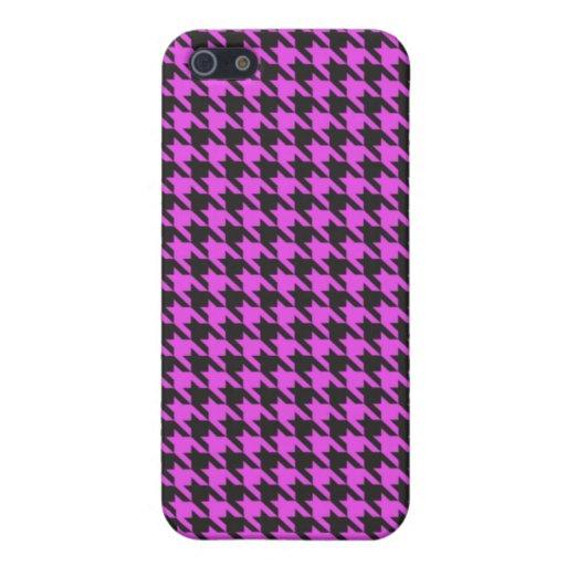 Cubierta rosada del iPhone 4/4s del diente de perr iPhone 5 Funda