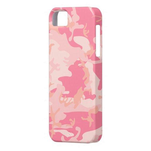 Cubierta rosada del iPhone 5 de la casamata de iPhone 5 Fundas