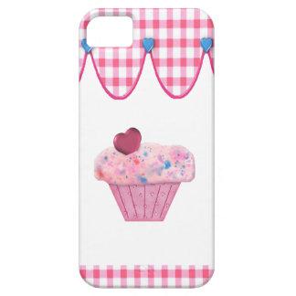 Cubierta rosada del iPhone 5 de la magdalena Funda Para iPhone SE/5/5s