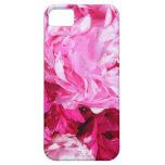 Cubierta rosada del iPhone de los Peonies iPhone 5 Coberturas
