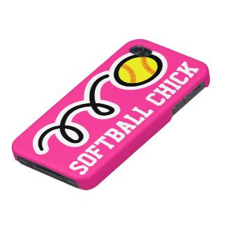 Cubierta rosada del teléfono del caso el | del iPh iPhone 4 Funda