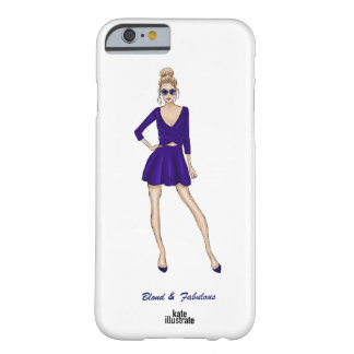 Cubierta rubia y fabulosa del iPhone por el Funda De iPhone 6 Barely There