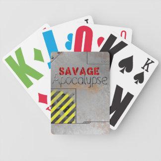 Cubierta salvaje de la ampliación de foto de la cartas de juego