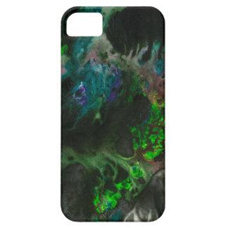 Cubierta salvaje del teléfono de la pintura iPhone 5 funda