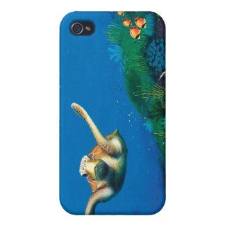Cubierta subacuática del teléfono iPhone 4 protector