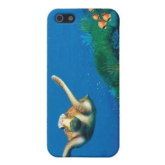 Cubierta subacuática del teléfono iPhone 5 protector