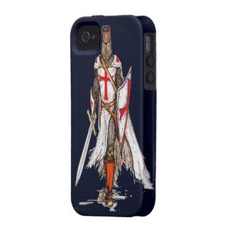 cubierta templar del caso del iphone 4 del caballe iPhone 4/4S fundas