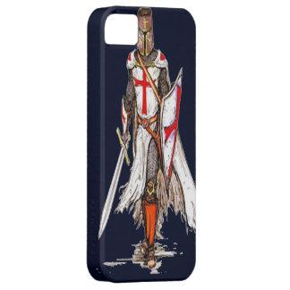 cubierta templar del caso del iphone 5 del caballe iPhone 5 Case-Mate cobertura