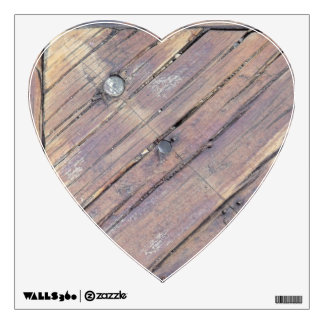 Cubierta texturizada áspera de madera resistida