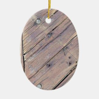 Cubierta texturizada áspera de madera resistida ornamentos para reyes magos