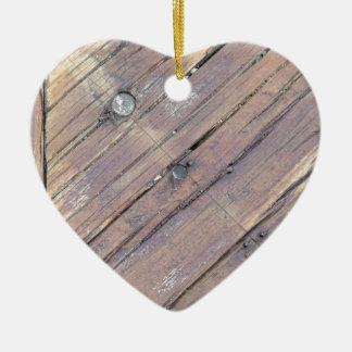 Cubierta texturizada áspera de madera resistida ornamentos de reyes
