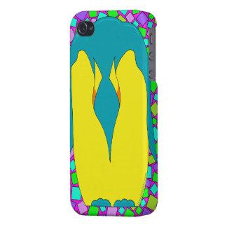 Cubierta tropical colorida del iPhone 4 del extrac iPhone 4 Fundas