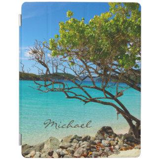Cubierta tropical del iPad 2/3/4 de St. John de la Cover De iPad