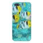 cubierta tropical del iphone 4g de los pescados iPhone 5 carcasas