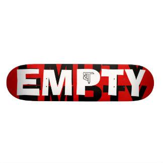 Cubierta vacía del vórtice skate boards