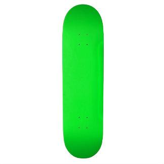 cubierta verde clara completamente adaptable del patines