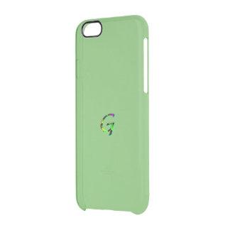 Cubierta verde de la desviación del iPhone 6 del Funda Clear Para iPhone 6/6S
