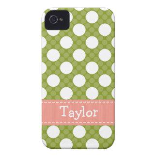 Cubierta verde rosada del compañero del caso de /4 iPhone 4 protector