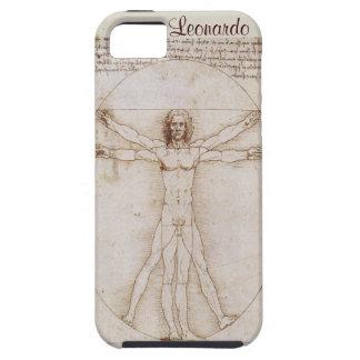 cubierta vitruvian del caso del ambiente del iPhone 5 carcasas