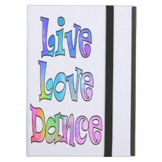 Cubierta viva linda de la danza del amor