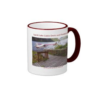 Cubierta y Floatplane de la cabina de la taza/del Taza De Dos Colores