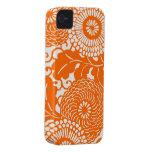 Cubiertas abstractas del iPhone del estampado de iPhone 4 Case-Mate Cobertura