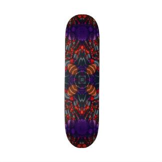 Cubiertas abstractas locas del monopatín del skateboard