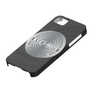Cubiertas de boca Brooklyn iPhone 5 Case-Mate Protector