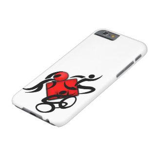 cubiertas de la competencia del triathlon de los funda para iPhone 6 barely there