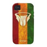 Cubiertas de Rasta del teléfono y de la tableta de iPhone 4/4S Carcasas