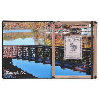 Cubiertas del ipad del lago autumn iPad fundas