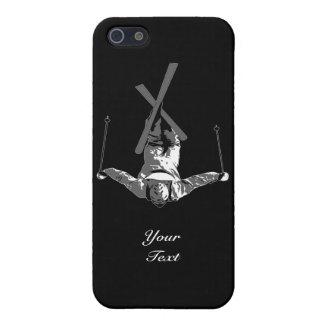 Cubiertas del iPhone 5C del esquí del estilo libre iPhone 5 Funda