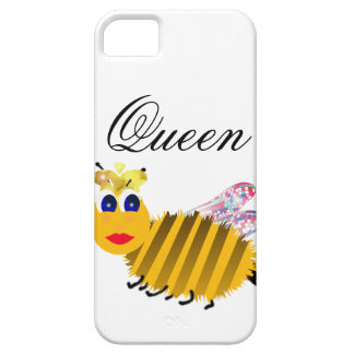 Cubiertas del iphone de la abeja reina iPhone 5 fundas