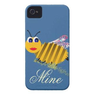 Cubiertas del iphone de la mina de la abeja iPhone 4 Case-Mate funda