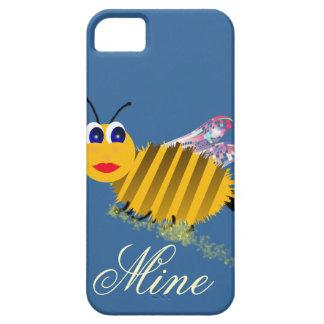 Cubiertas del iphone de la mina de la abeja iPhone 5 funda