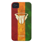Cubiertas del MI Rasta Iphone 4/4s Case-Mate iPhone 4 Protector