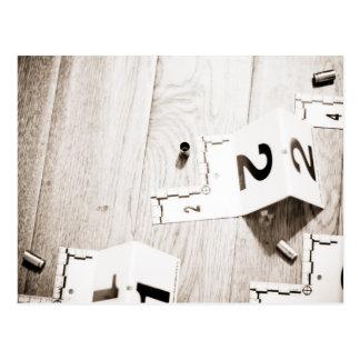 Cubiertas en una escena tarjetas postales