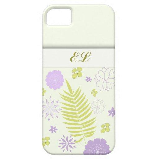 Cubiertas florales femeninas del modelo iphone5 iPhone 5 carcasas